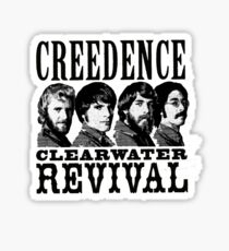 Creedence clearwater revival Sticker