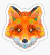 Fox Animals Gift Sticker