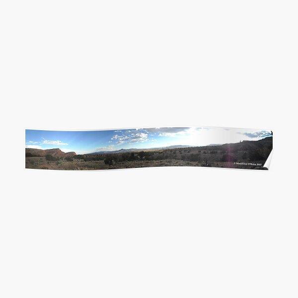 Abiquiu Mesa Panorama, New Mexico Poster
