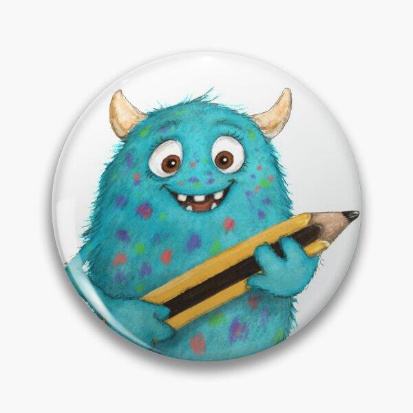 niedliche Monster Button