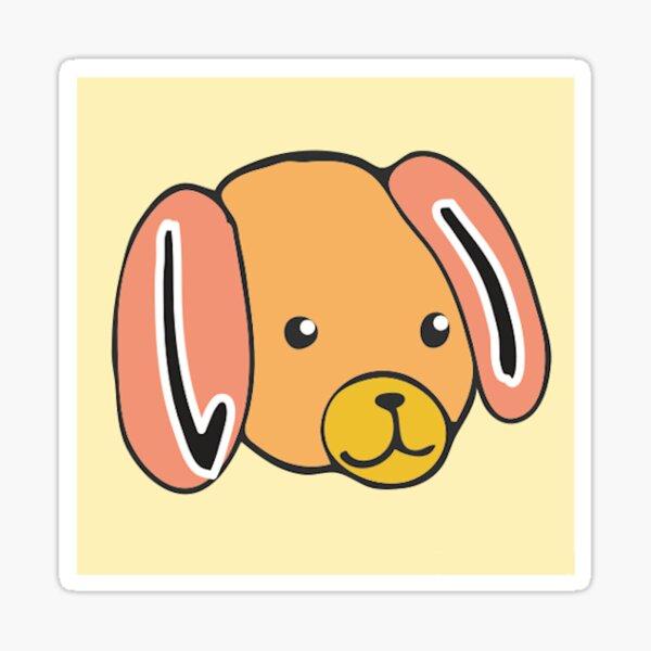 3:いぬ ( Dogs in Japanese) Sticker