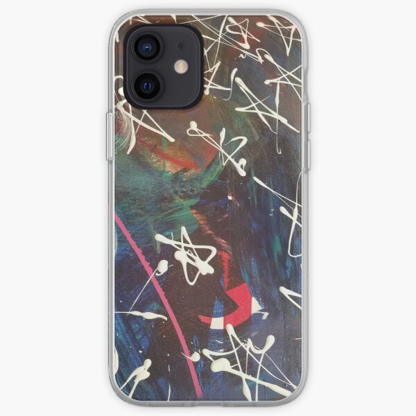 Messy Stars iPhone Soft Case