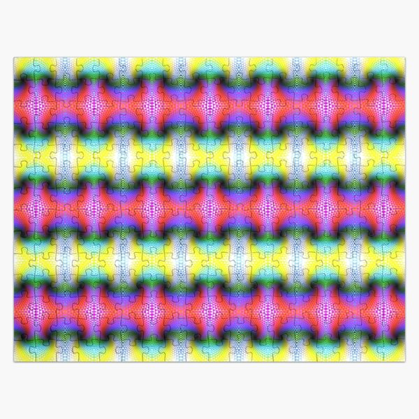 Psychedelic Pattern, Fractal Art Jigsaw Puzzle