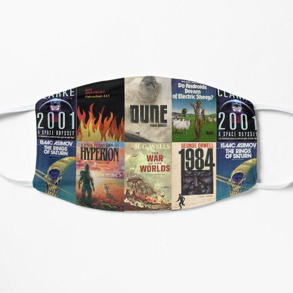 Famous science fiction books Flat Mask