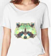 Raccoon Animals Gift Women's Relaxed Fit T-Shirt