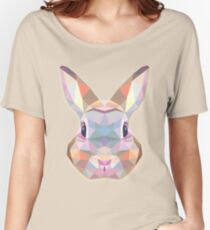 Rabbit Hare Animals Gift Women's Relaxed Fit T-Shirt