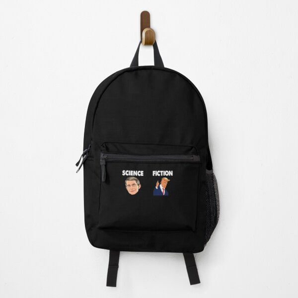 Fauci Trump Science Fiction Backpack