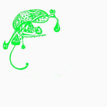 Bugs life - Green by onethirdpotato