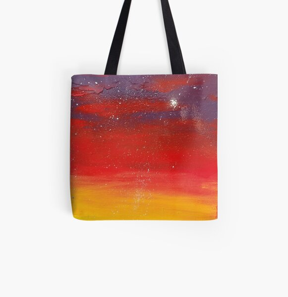 Sunset  All Over Print Tote Bag