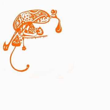 Bugs life - Orange by onethirdpotato
