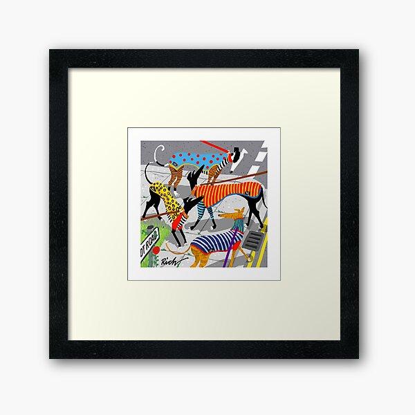 Tee Time Framed Art Print