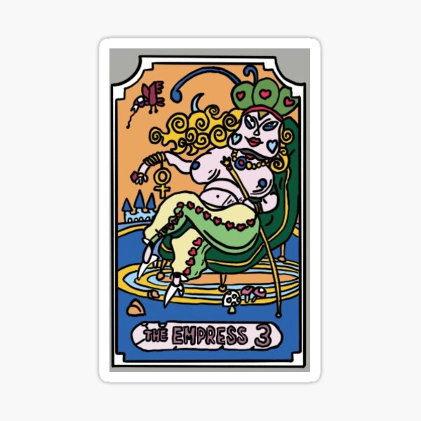 The Empress JoJo Tarot Card Sticker