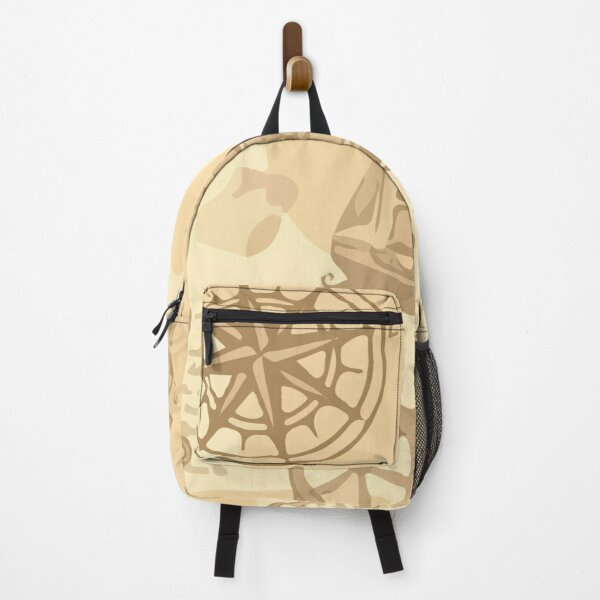 nautical vintage pattern seamless hand drawing marine Backpack