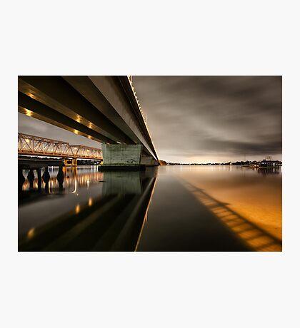 Twin Bridges Photographic Print