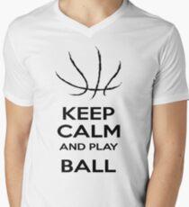 Ball Is Life. Mens V-Neck T-Shirt