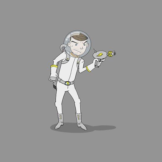 "Captain Ike ""Lazer"" Beem by Dave Sliozis"