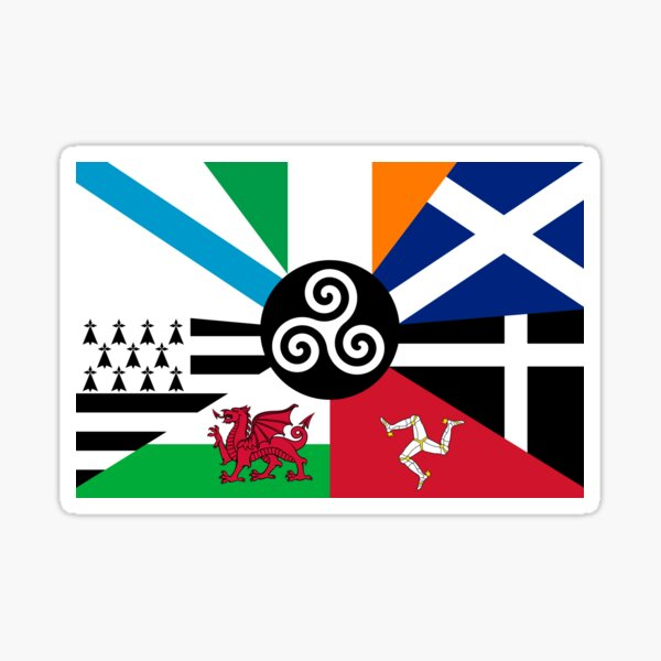 Flag of the Pan Celtic Nations Sticker