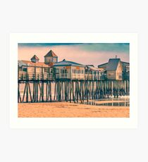 Old Orchard Beach Maine Art Print