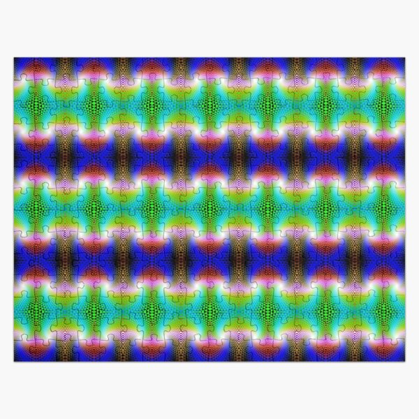 Psychedelic Pattern, Graphic Design Jigsaw Puzzle