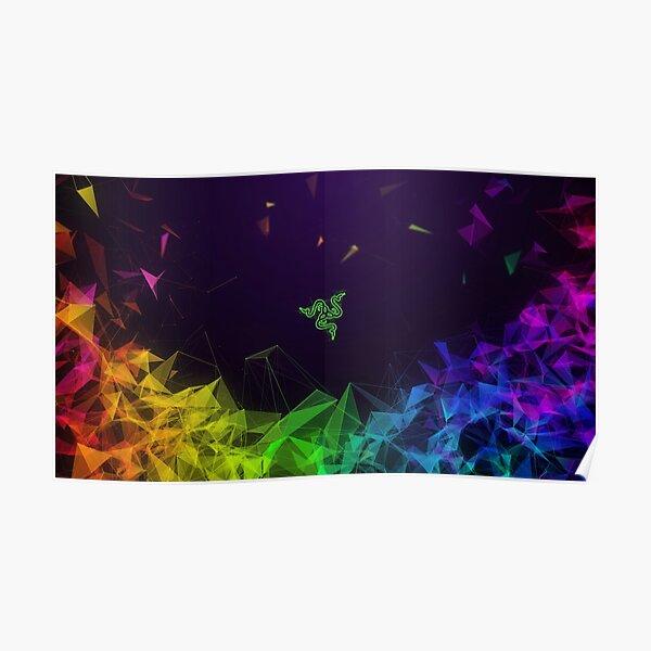 Razer (Multi colour) Poster