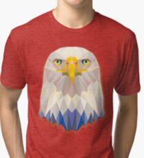 Eagle Animals Gift Tri-blend T-Shirt