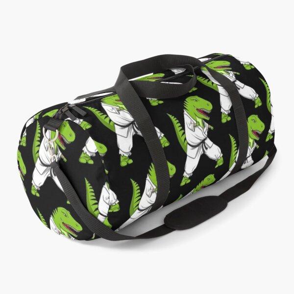 T-Rex Dinosaur Karate  Duffle Bag