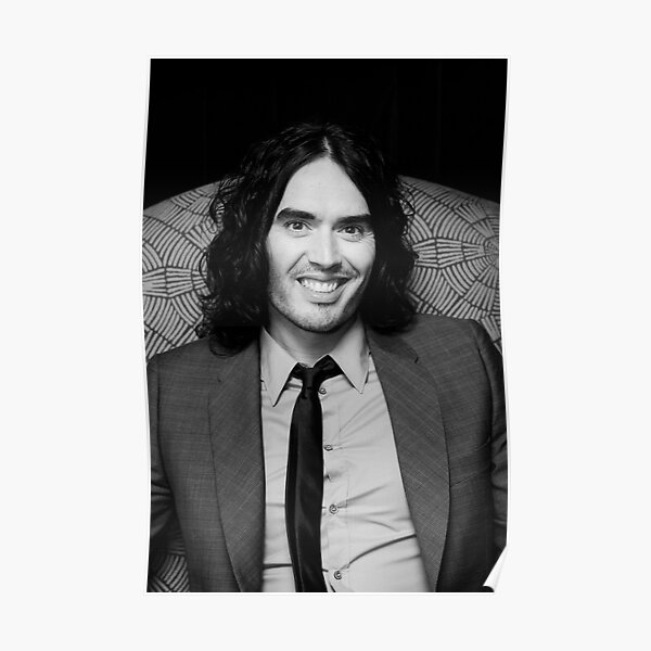 Russell Brand - comedian - actor - superstar Poster