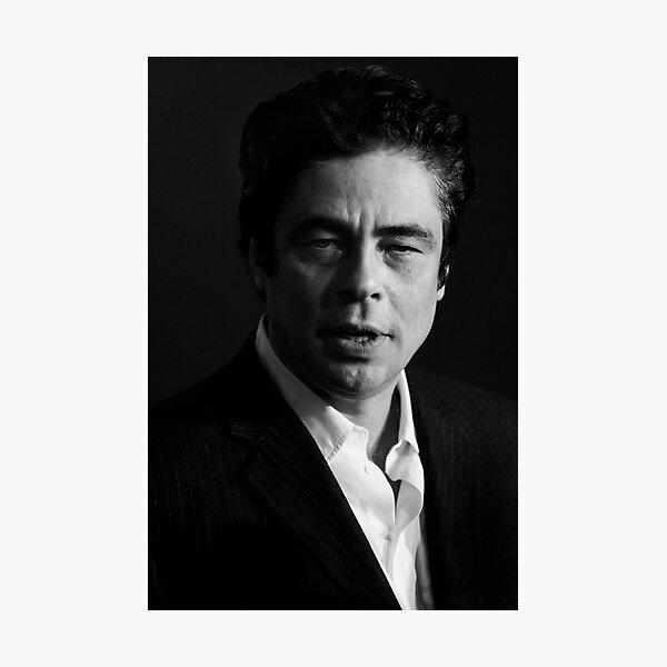 Benicio del Toro - actor Photographic Print