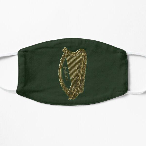 The Golden Irish Celtic Harp Mask