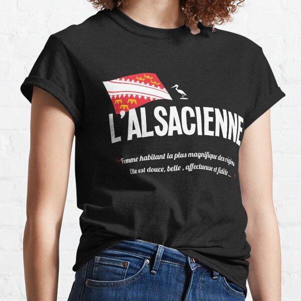 L''alsacienne / Alsace / drapeau T-shirt classique