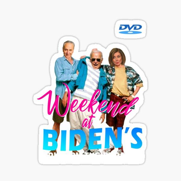 Weekend at Biden's Bring On The Debates Sticker