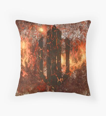 Intervoid - Lava Throw Pillow