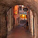 Cozy narrow Italian bar street... [FEATURED] by imagic