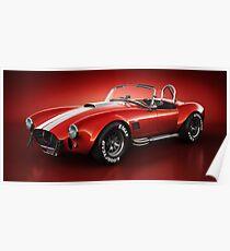 Shelby Cobra 427 - Bloodshot Poster