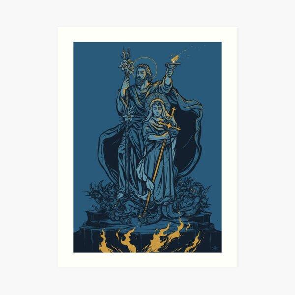 Terror of Demons Art Print