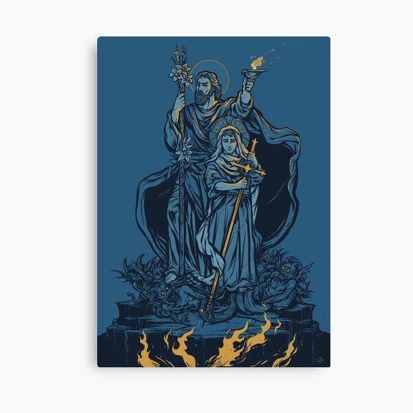 Terror of Demons Canvas Print