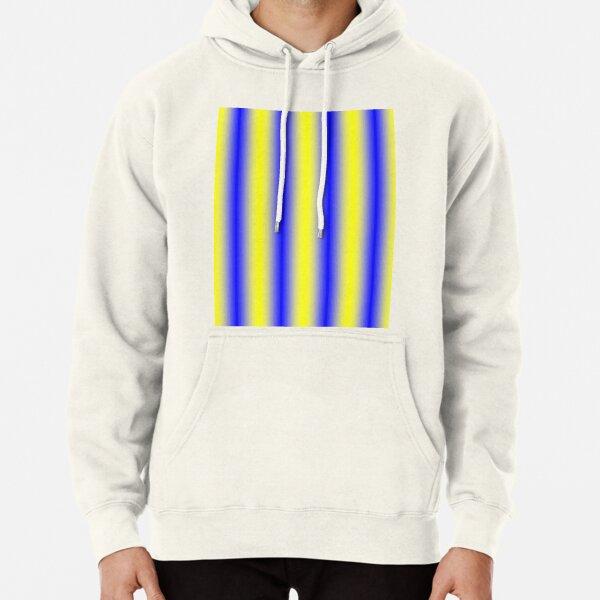 iLLusion Cobalt Blue Color Pullover Hoodie