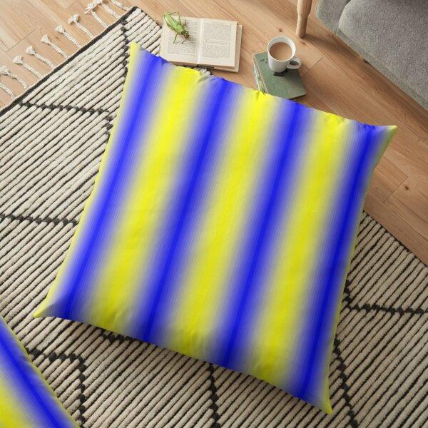 iLLusion Cobalt Blue Color Floor Pillow