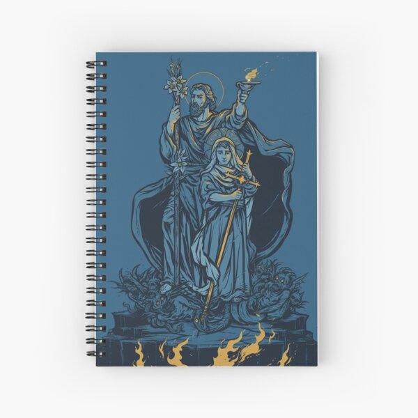 Terror of Demons Spiral Notebook