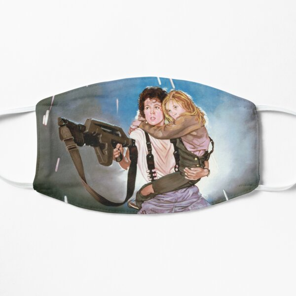 Aliens Ripley and Newt  Flat Mask