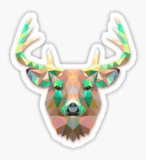 Deer Animals Gift Sticker