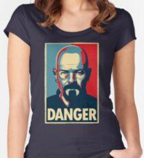 Danger  Women's Fitted Scoop T-Shirt