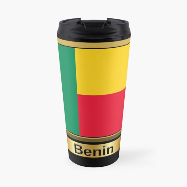 Benin Flag Gifts, Stickers & Products (N) Travel Mug