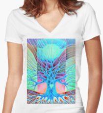 Joy Women's Fitted V-Neck T-Shirt