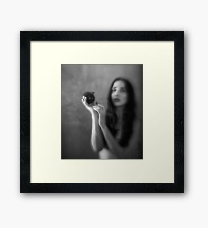 Love is a fruit in season at all times, and within reach of any hand. Framed Print