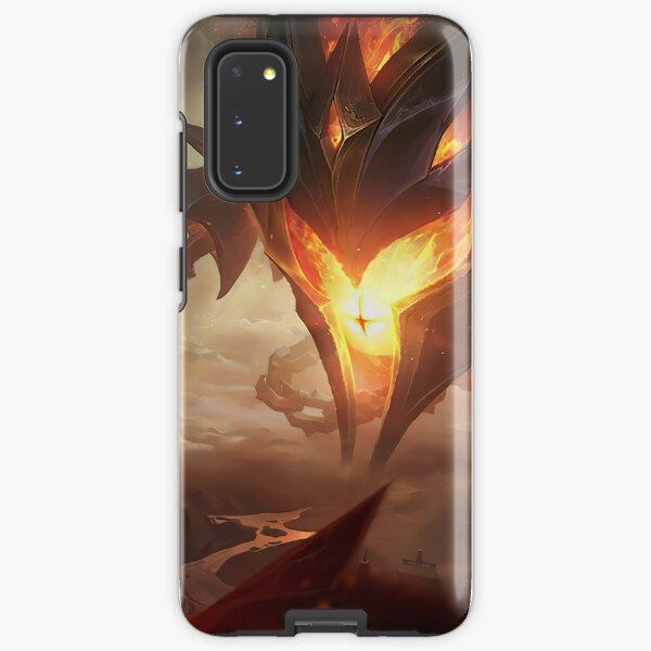 Infernal Vel'Koz Splash Art - League of Legends Samsung Galaxy Tough Case