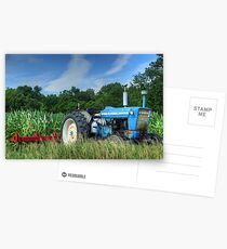 Ford 5000 Tractor Postcards