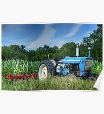 Ford 5000 Tractor Poster