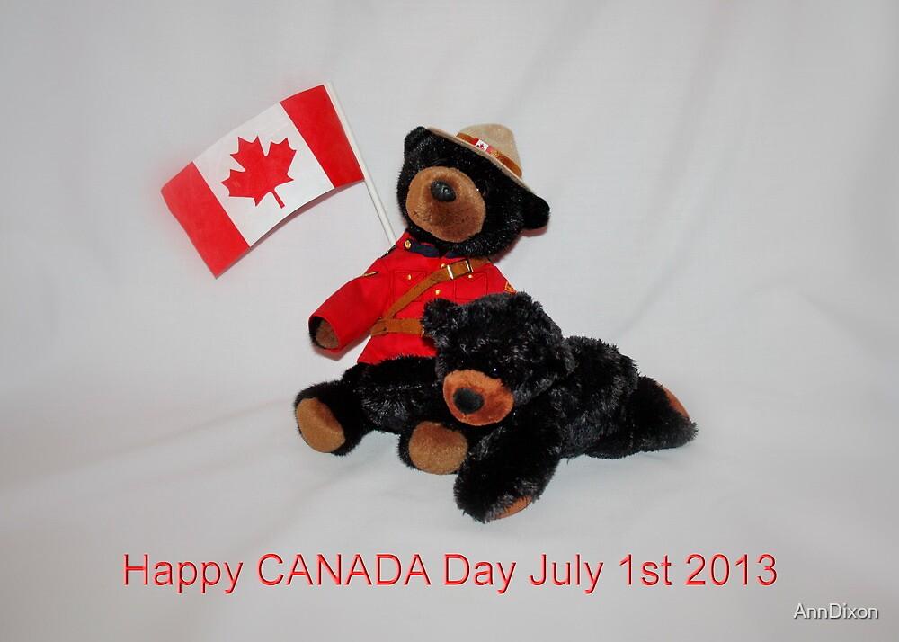 CANADA Day by AnnDixon