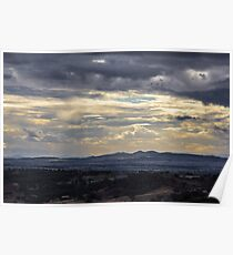 A view from Oxley Lookout Poster